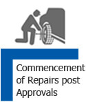 Commencement of Repairs Post Approvals
