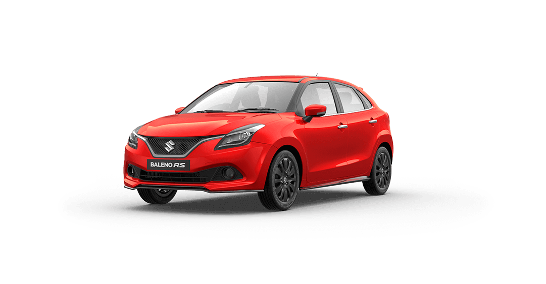 Baleno RS Exterior - Red