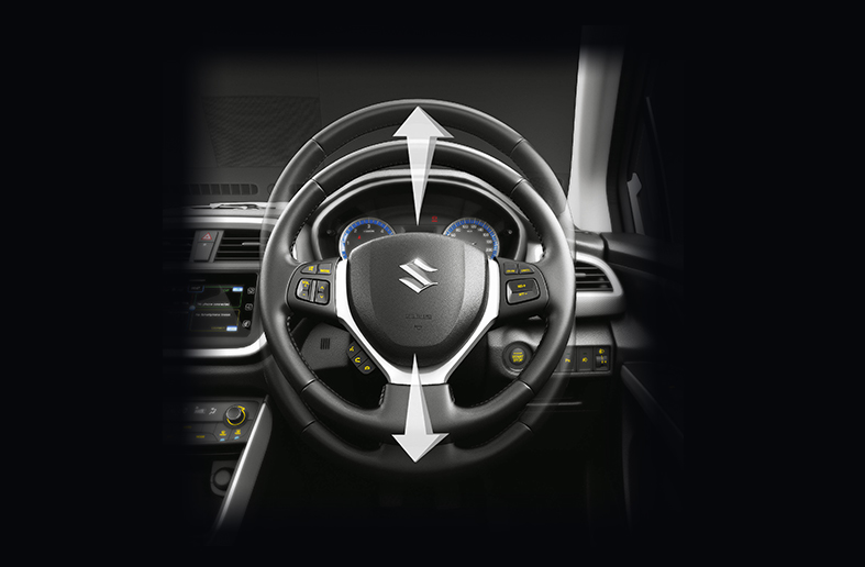 S-Cross Adjustable Telescopic and Tilt Steering